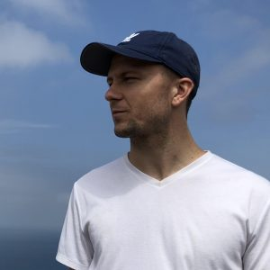 side profile photo of JP Dodson
